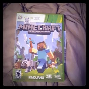 Other - Minecraft  xbox 360 edition